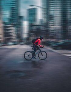 Vardagsmotion på cykel